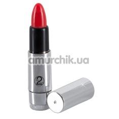 Клиторальный вибратор Kiss Me Lipstick Vibe - Фото №1