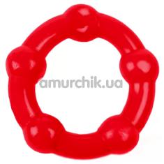 Эрекционное кольцо Brazzers HS004, красное - Фото №1