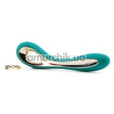 Вибратор Lelo Isla Turquoise Green (Лело Исла), бирюзовый