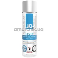 Лубрикант JO H2O Warming с согревающим эффектом, 240 мл - Фото №1