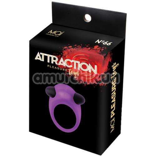 Виброкольцо Mai Attraction Toys №66, фиолетовое