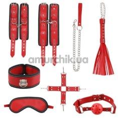 Бондажный набор sLash Hermes Bondage Set, красный - Фото №1