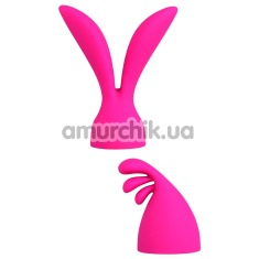 Набор насадок на универсальный массажер Palm Pleasure, розовый