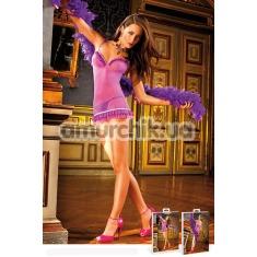Комбинация Purple-Blue Ruffled Dress (модель B306) - Фото №1