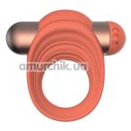 Виброкольцо Charismatic Clea, оранжевое - Фото №1