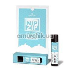 Бальзам для cосков с охлаждающим эффектом Sensuva Nip Zip Ice Cube Chocolate Mint - мятный шоколад, 4 мл - Фото №1