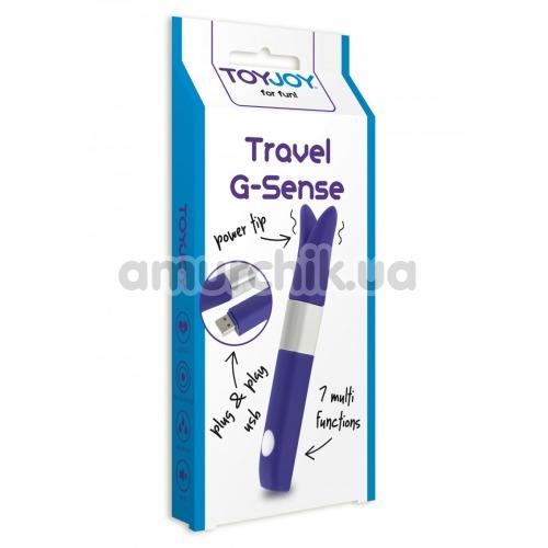 Вибратор для точки G Travel G-Sense, фиолетовый