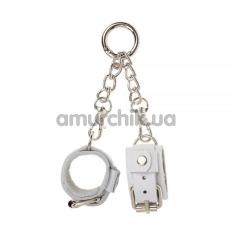 Брелок в виде наручников sLash Handcuffs, белый - Фото №1