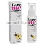 Массажное масло с согревающим эффектом Love To Love Me Tender Vanille - ваниль, 100 мл - Фото №1