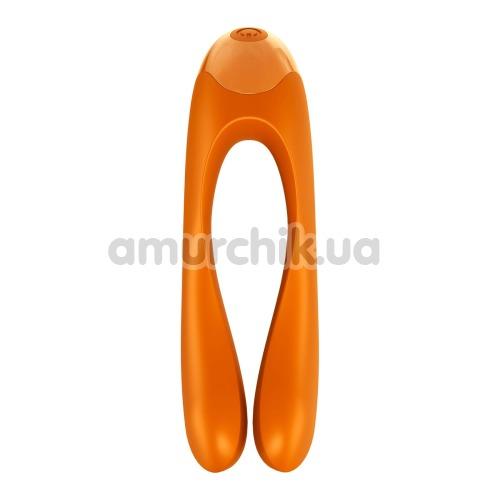 Вибратор Satisfyer Candy Cane, оранжевый - Фото №1