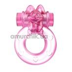 Виброкольцо Ring 010082A, розовое - Фото №1