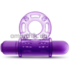 Виброкольцо Play With Me Couples Play, фиолетовое - Фото №1