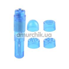 Клиторальный вибратор Mini-Mite Vibrator, голубой