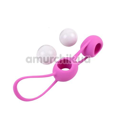 Вагинальные шарики MisSweet Double, розовые