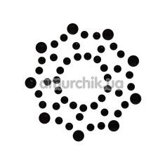 Украшения для сосков Nipple Stickers Star, черные - Фото №1