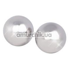 Купить Вагинальные шарики Ben Wa Authentic Love Balls, серебряные