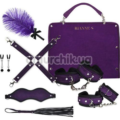 Бондажный набор Rianne S Kinky Me Softly, фиолетовый - Фото №1