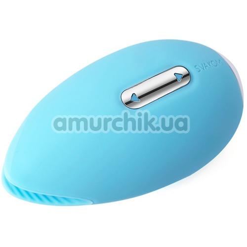 Клиторальный вибратор Svakom Candy, голубой