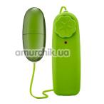 Виброяйцо B Yours Power Bullet, зелёное - Фото №1