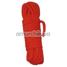 Веревка Shibari Bondage 7 м, красная - Фото №1