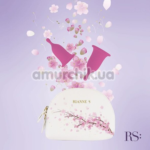 Набор из 2 менструальных чаш Rianne S Femcare, розовые