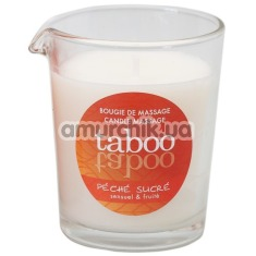 Массажная свеча Taboo Peche Sucre - персик, 60 мл