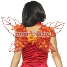 Декоративные крылья Leg Avenue, красные - Фото №1