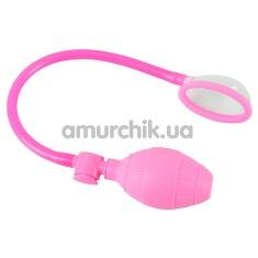 Вакуумная помпа для вагины Sweet Smile Labia Sucker, розовая - Фото №1