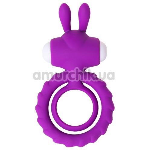 Виброкольцо JOS Good Bunny, фиолетовое