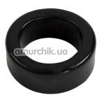 Эрекционное кольцо Titanmen Cock Ring, черное - Фото №1