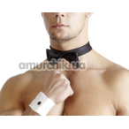 Костюм джентльмена Svenjoyment Underwear: бабочка + манжеты - Фото №1