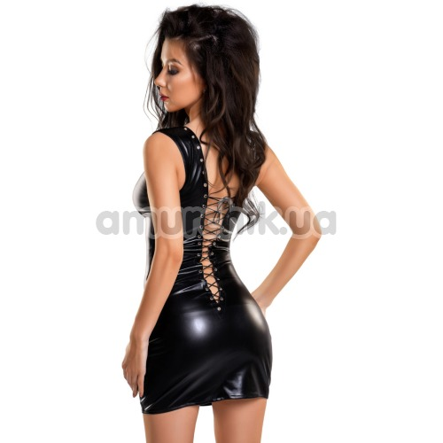 Платье Wetlook Glossy Michelle, чёрное