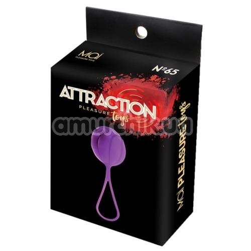 Вагинальный шарик Mai Attraction Pleasure Toys N65, фиолетовый
