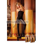 Комбинезон Black Opaque Bodystocking (модель B458) - Фото №1