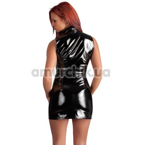Платье Black Level Vinyl Dress with Zip, черное