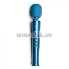 Универсальный вибромассажер Le Wand Petite Rechargeable Vibrating Massager, голубой - Фото №1