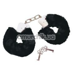Наручники Bad Kitty черные - Фото №1