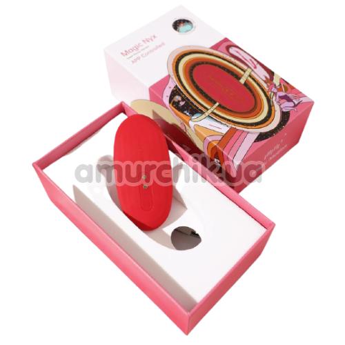 Клиторальный вибратор Magic Motion Magic Nyx, красный