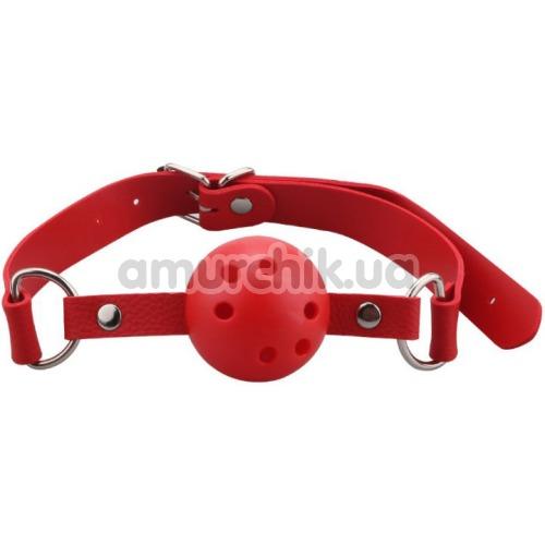Кляп Breathable Ball Gag, красный