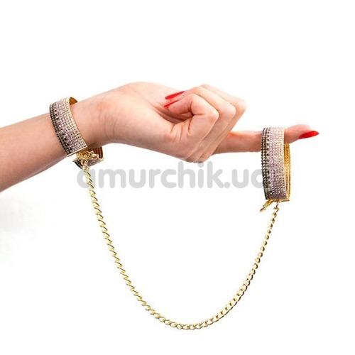 Наручники Rianne S Diamond Cuffs Liz, золотые
