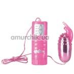 Виброяйцо Bullet Plus, розовое