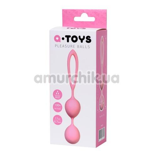 Вагинальные шарики A-Toys Pleasure Balls 764015-2, розовые