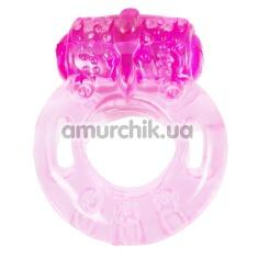 Виброкольцо Vibrator S-Love, розовое