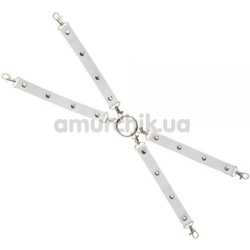 Ремешки для фиксаторов sLash Leather Fixer Large, белые