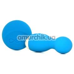 Вагинальные шарики с вибрацией Lelo Hula Beads Ocean Blue (Лело Хула Бидс), бирюзовые