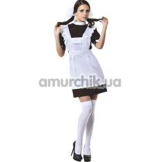 Костюм школьницы Schoolgirl Costume, бело-коричневый - Фото №1
