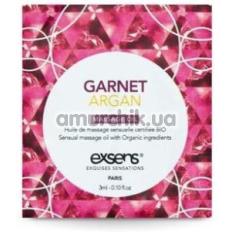 Массажное масло Exsens Garnet Argan - гранат и аргановое масло, 3 мл - Фото №1