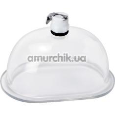 Чаша для вакуумной помпы Size Matters Pussy Pumping Cup Accessory, прозрачная - Фото №1