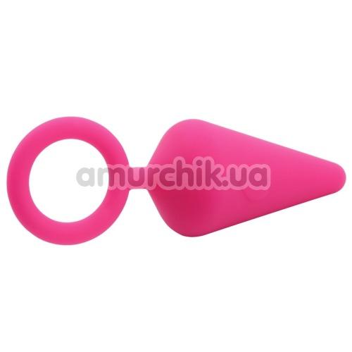 Анальная пробка Sweet Breeze Candy Plug M, розовая