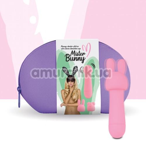 Клиторальный вибратор FeelzToys Mister Bunny, розовый